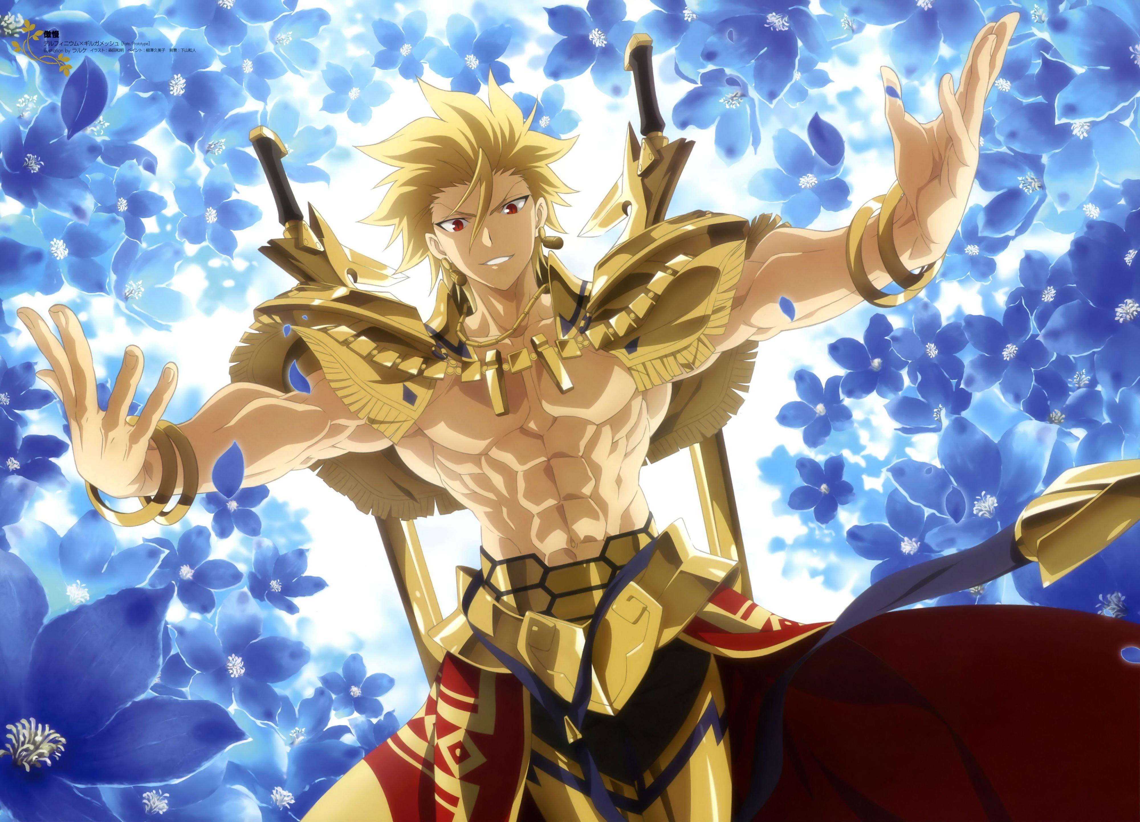 Fate stay night Gilgamesh g wallpaper background 4000x2887