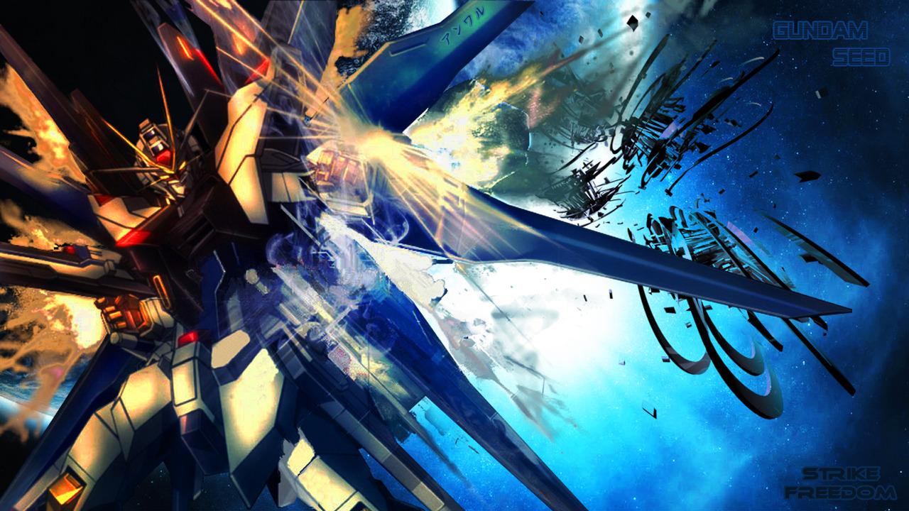 Pin Freedom Gundam Anime Wallpapers 1280x720