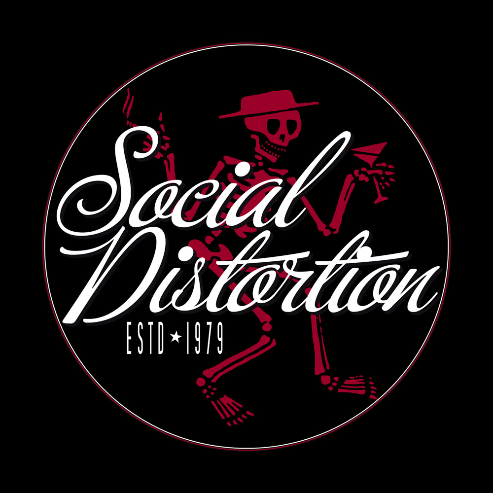 Social Distortion Skeleton Wallpaper Collection 12