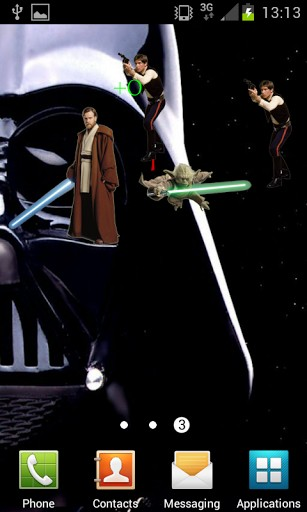 View bigger   Star Wars Game Live Wallpaper for Android screenshot 307x512