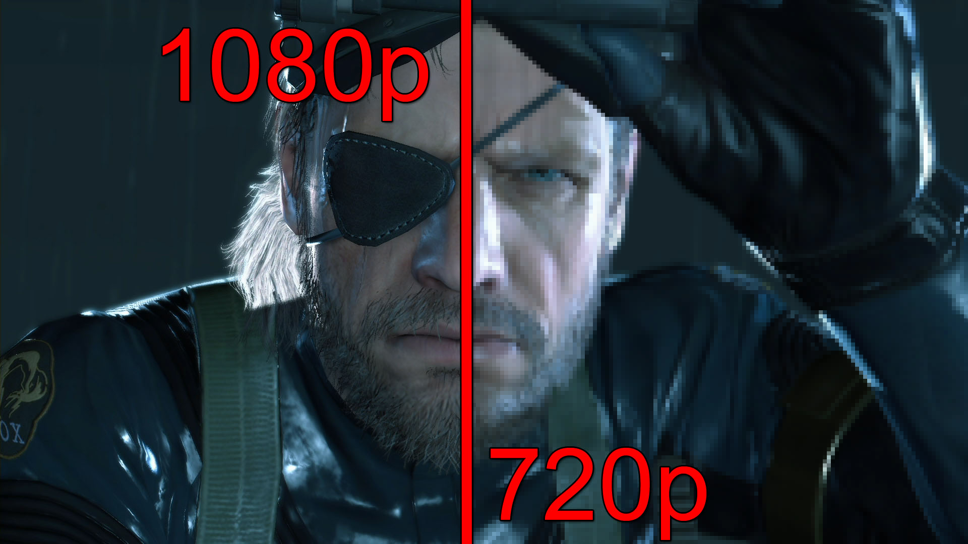 Metal Gear Solid V 1080p vs 720p Screenshot Comparison Will the Old 1920x1080