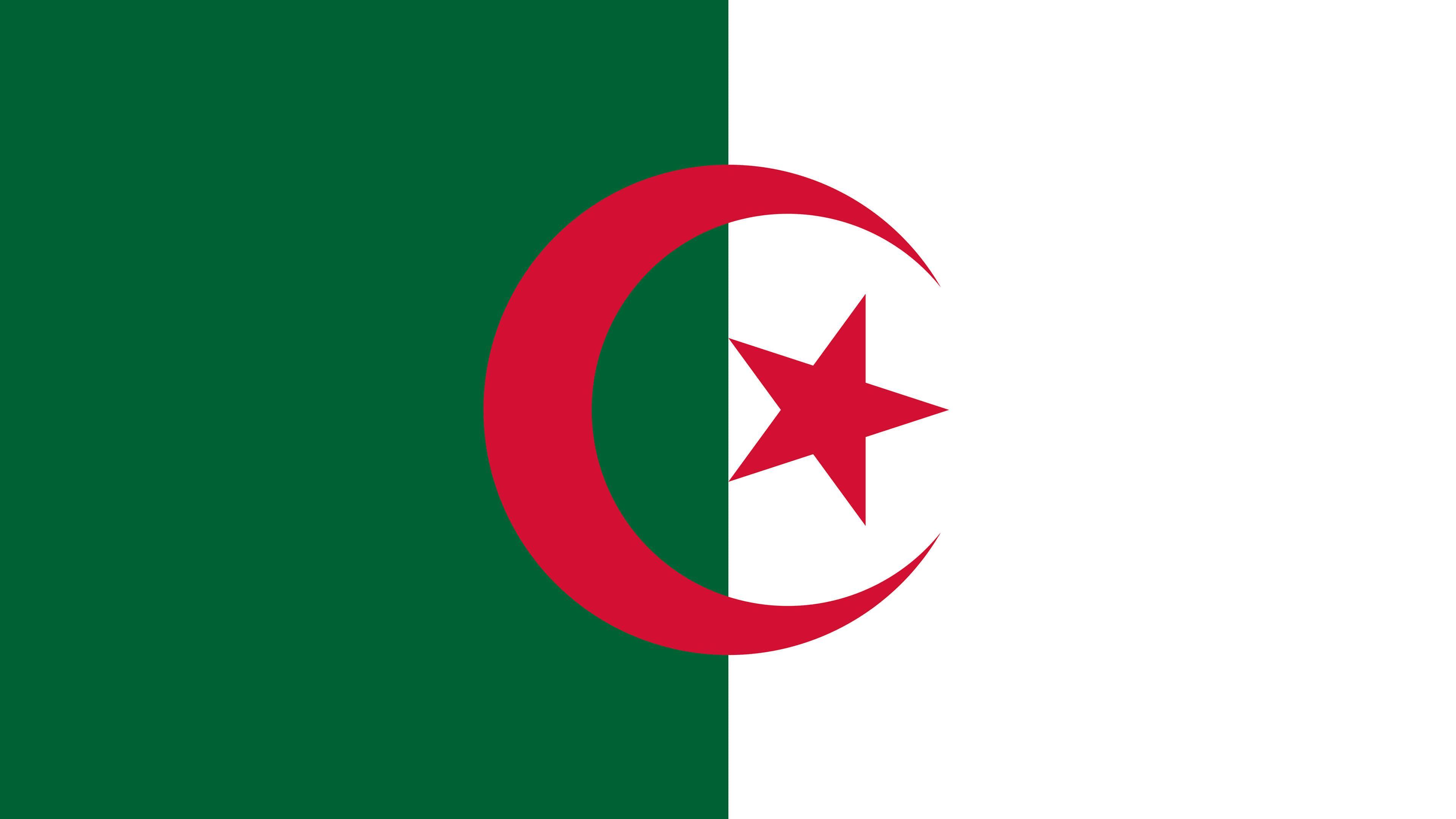 Algeria Flag UHD 4K Wallpaper Pixelz 3840x2160
