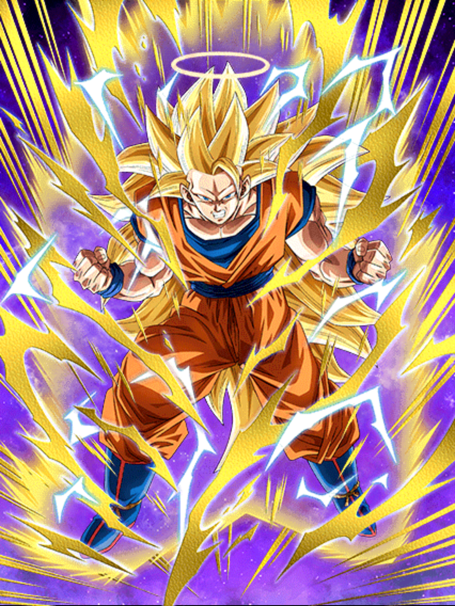 15 Goku Super Saiyan 3 Blue And Gold Wallpapers On Wallpapersafari