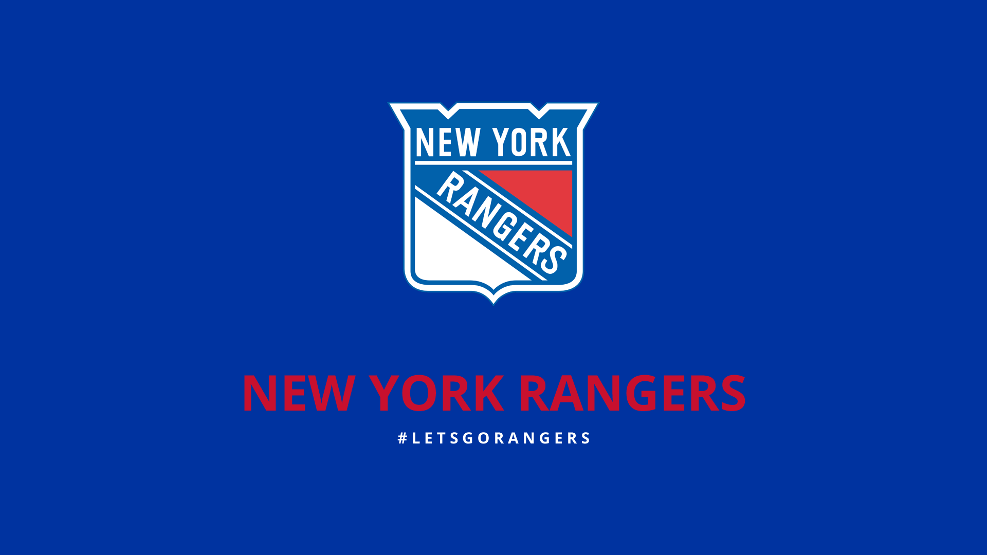 Free Download Minimalist New York Rangers Wallpaper By Lfiore