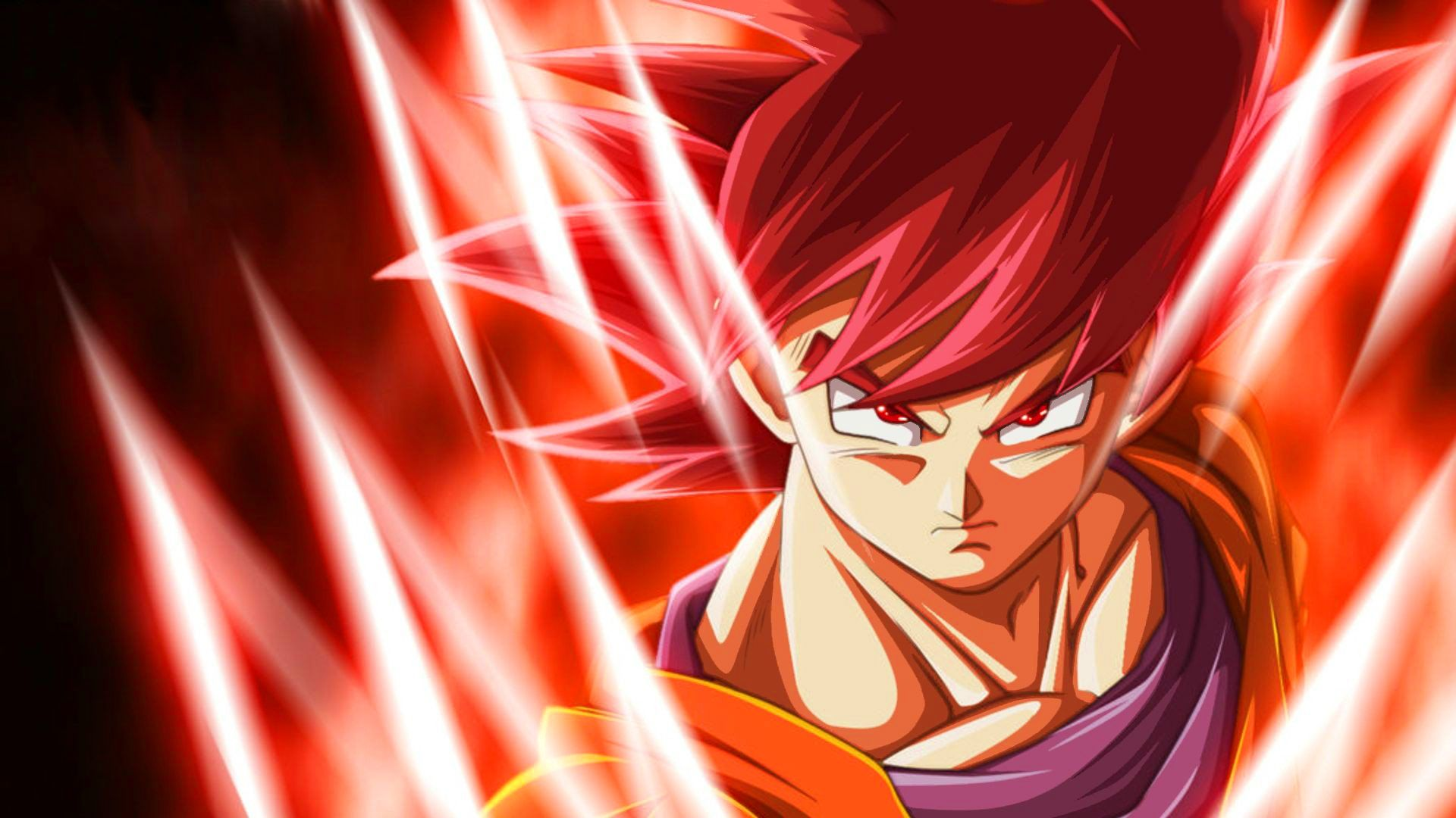 Goku Super Saiyan God Wallpapers Goku Super Saiyan God 1920x1080