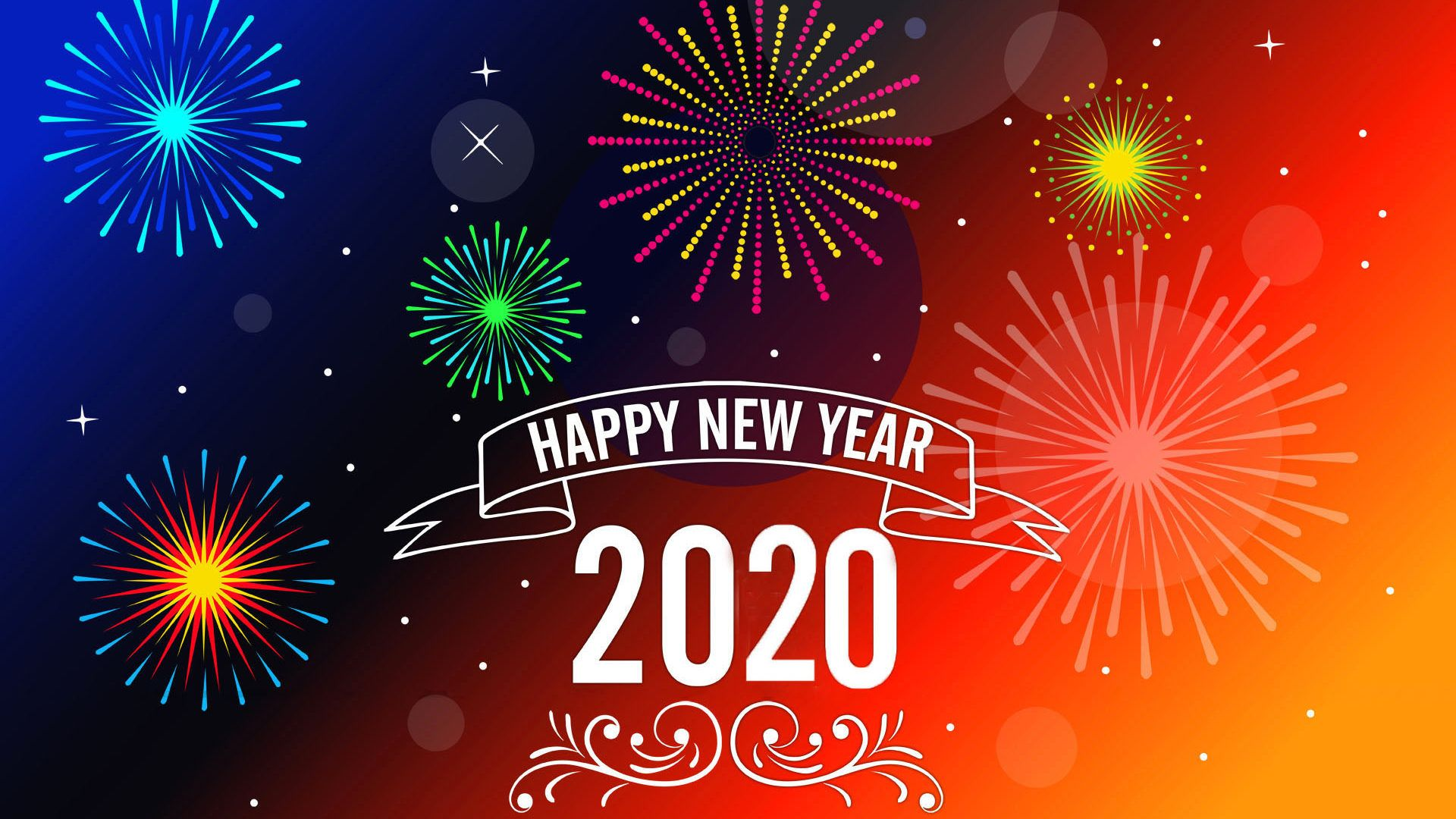 Happy New Year 2020 Wallpapers 30 images   WallpaperBoat 1920x1080