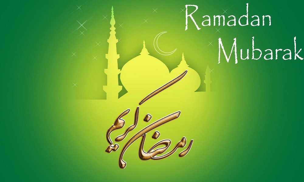 Happy Ramadan 2019 Wallpapers For PC Along with Kareem quotes 1000x600