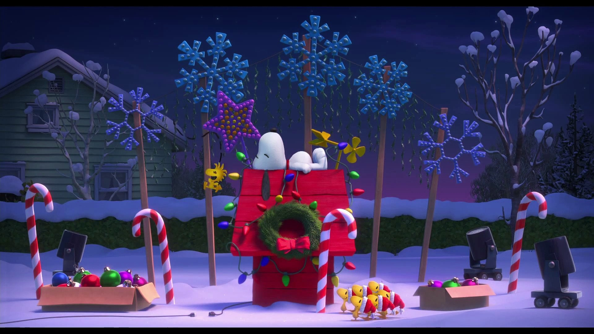 Snoopy Christmas Wallpaper for Computer 56 images 1920x1080