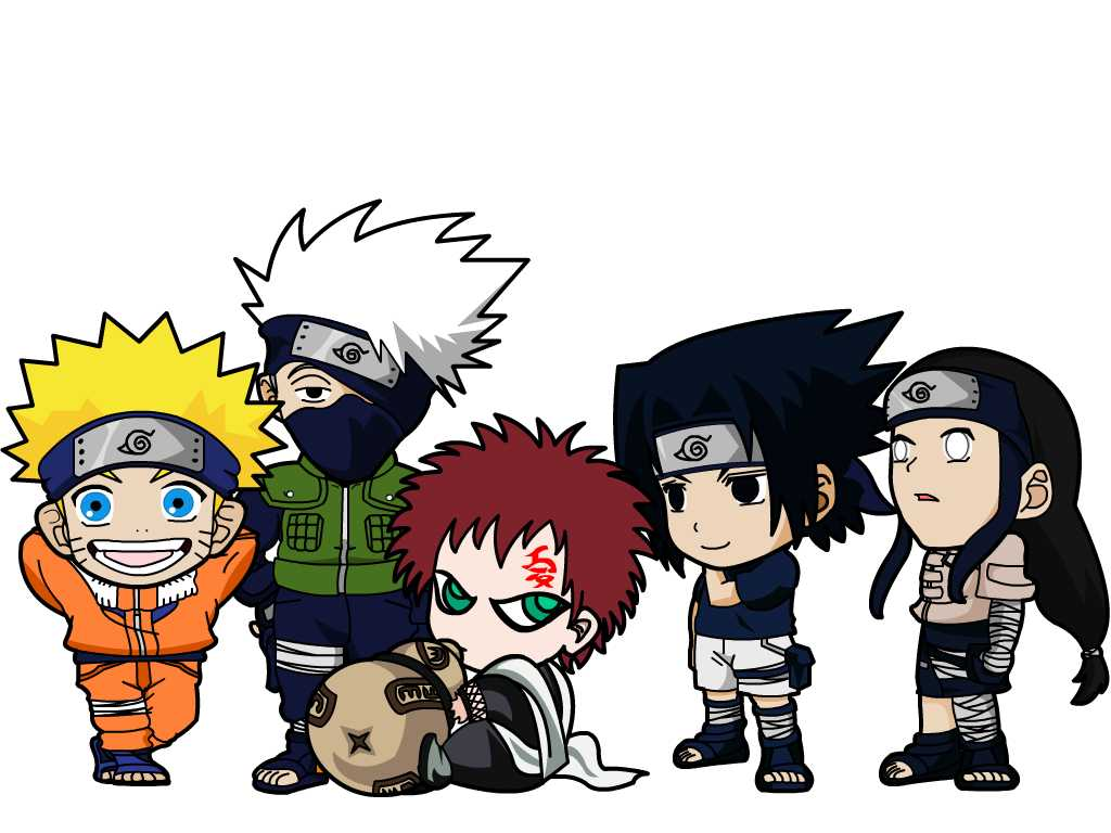 Naruto Chibi Wallpapers Wallpapersafari