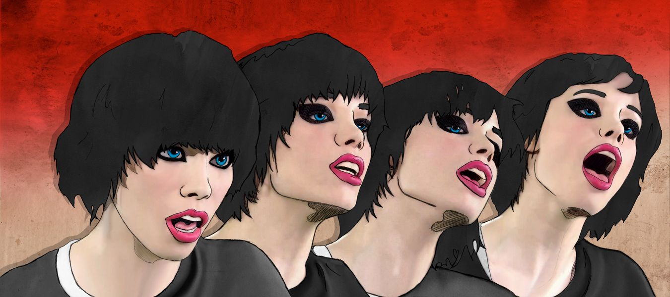 Images For Alice Glass Wallpaper 1350x600