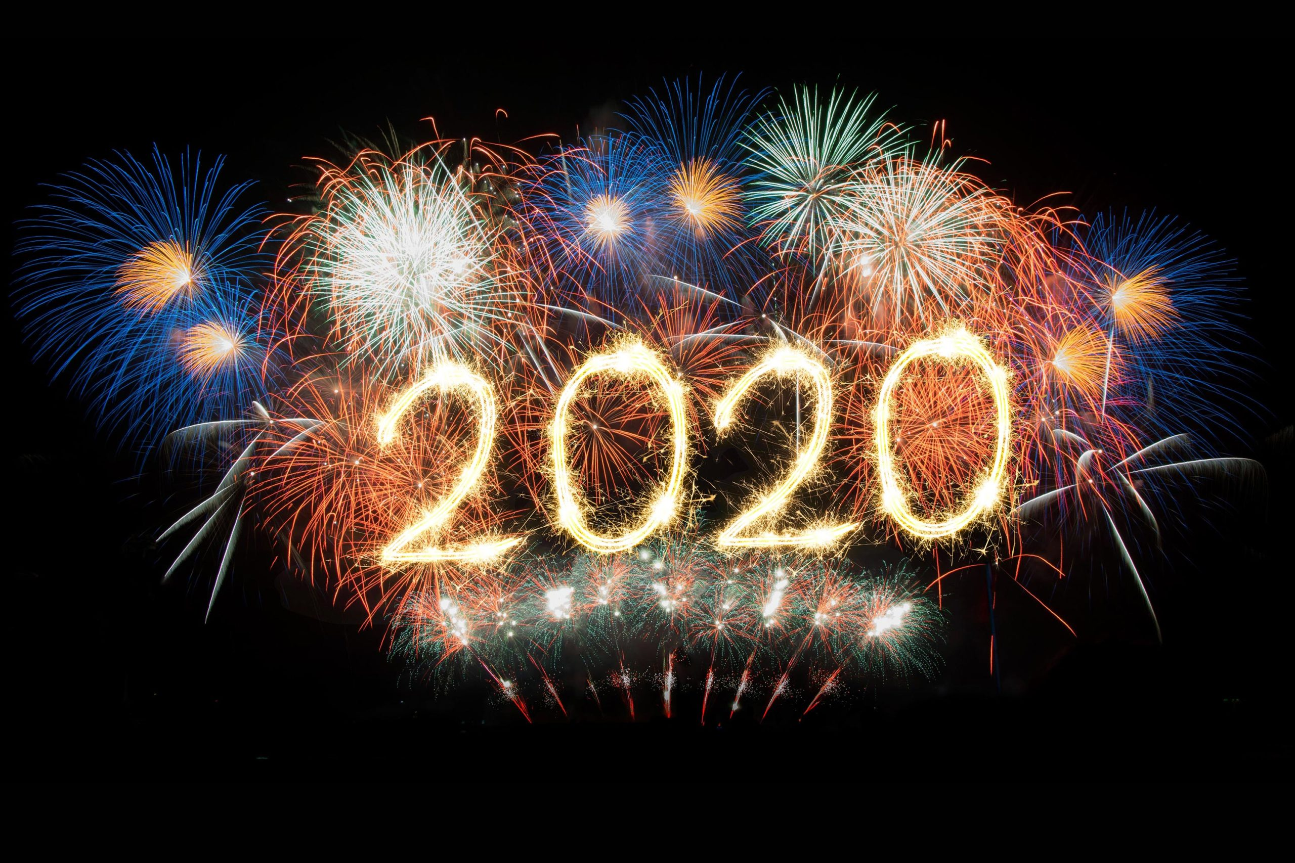 14 Fireworks Happy New Year 2020 Wallpapers High Quality Pictures 2560x1707