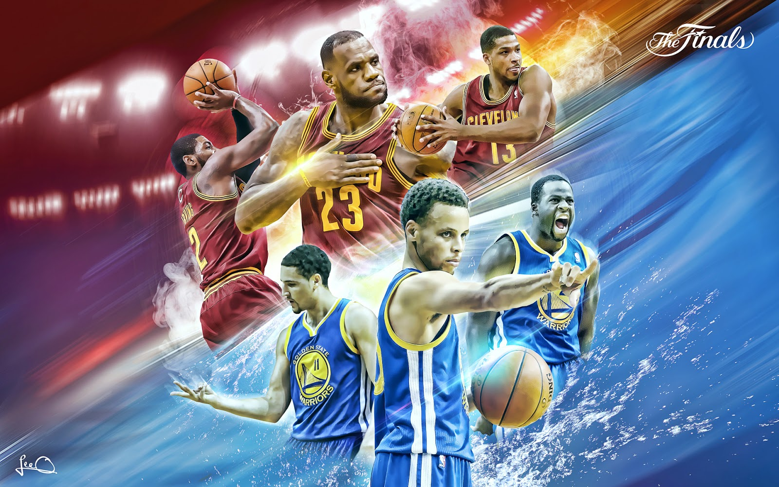 Wallpapers by Valdazzar NBA 2015   Golden State Warriors vs 1600x1000