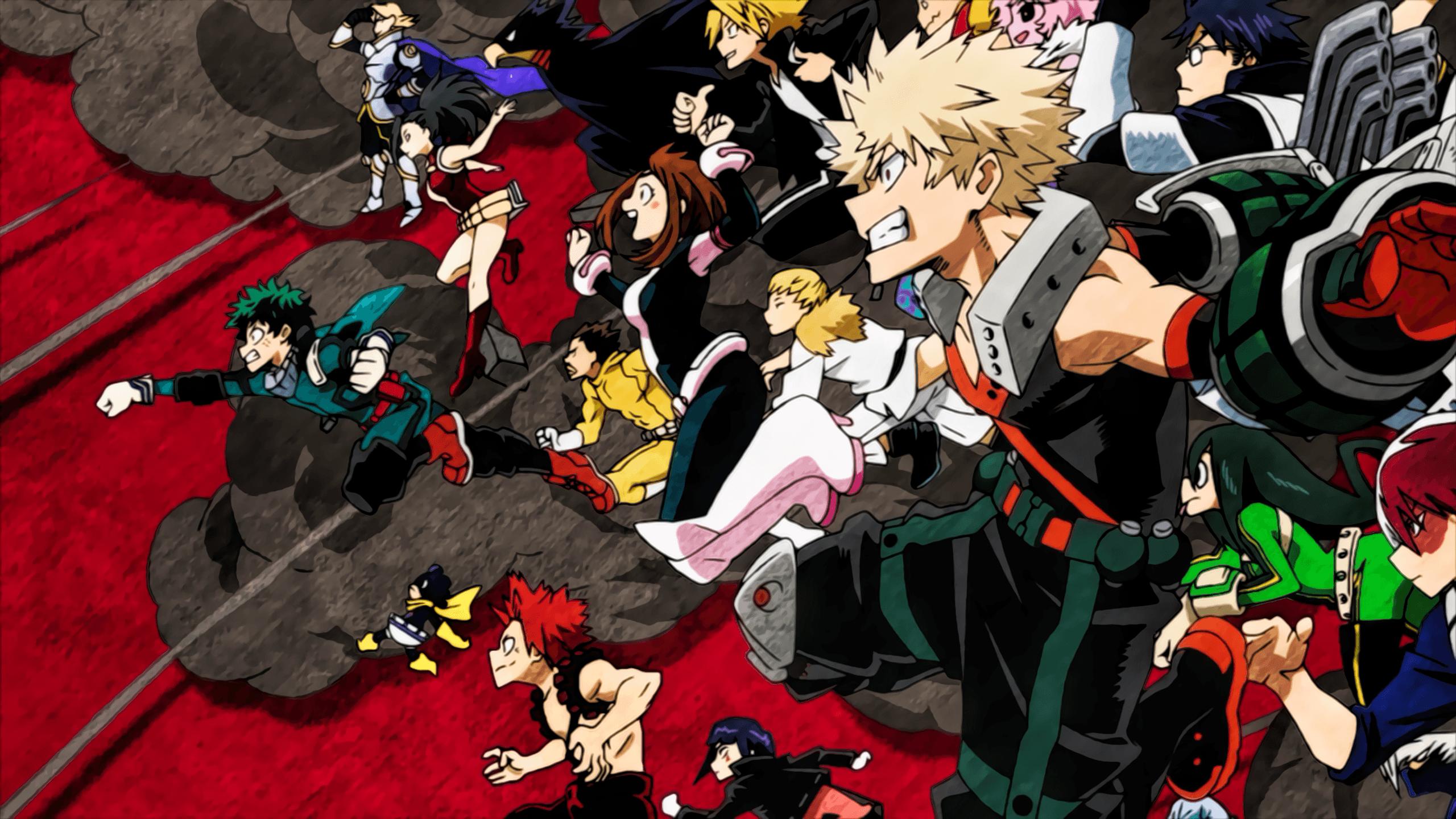Anime Ps4 MHA Wallpapers 2560x1440