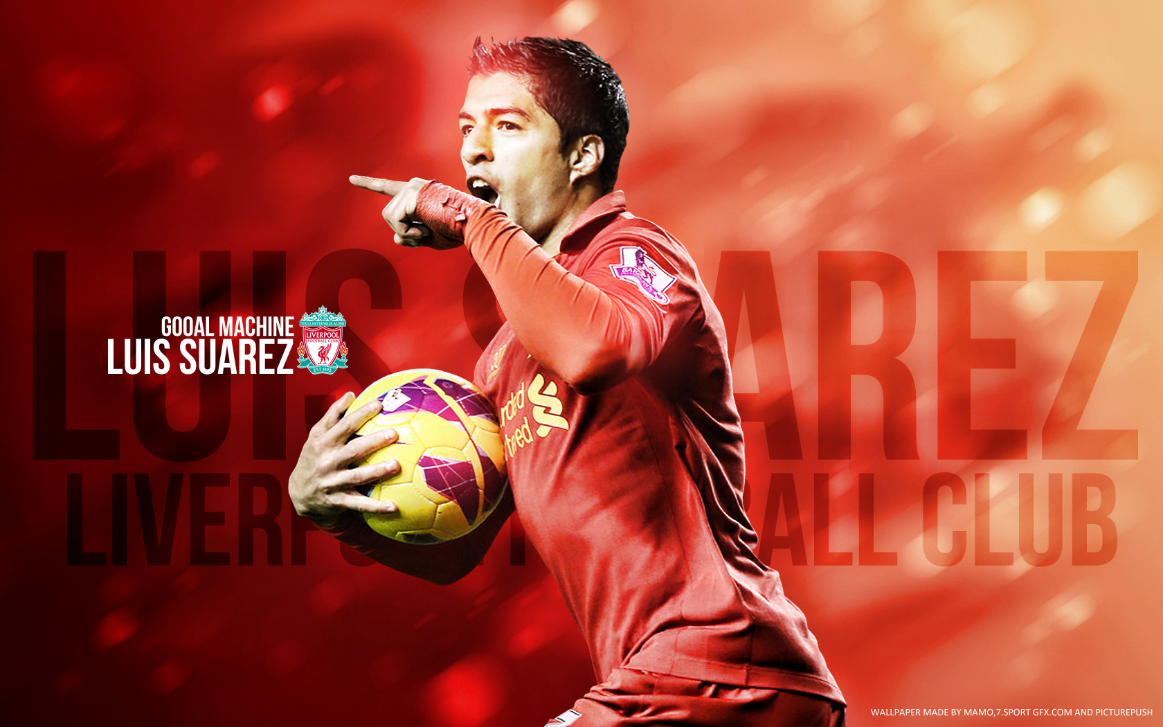 Luis Suarez Wallpaper   Football Wallpaper HD Football Picture HD 1680x1050