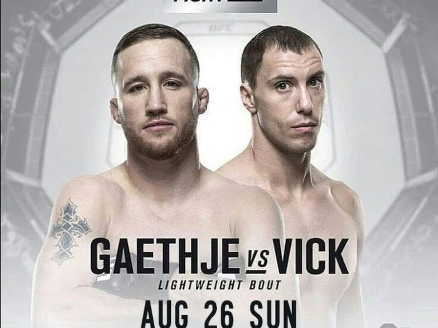 UFC Fight Night Gaethje vs Vick live results discussion play 1400x1050