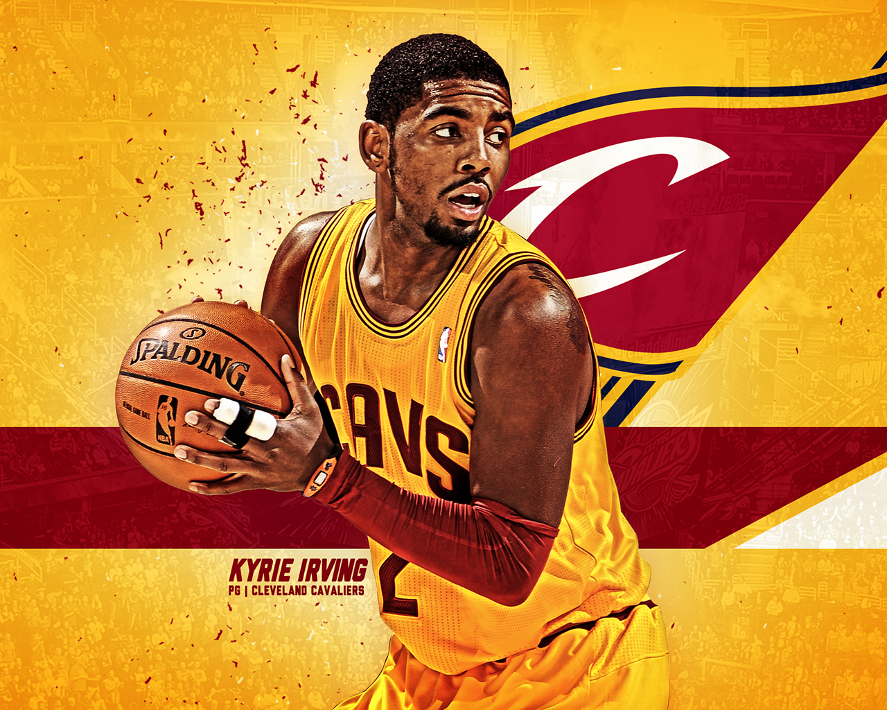 Kyrie irving 2018 wallpapers wallpapersafari - Derrick rose cavs wallpaper ...