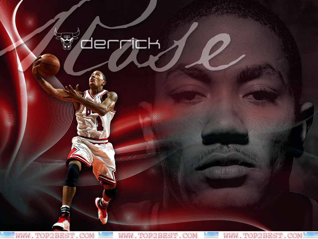 Derrick Rose Chicago Bulls Player   Top 2 Best 1024x768