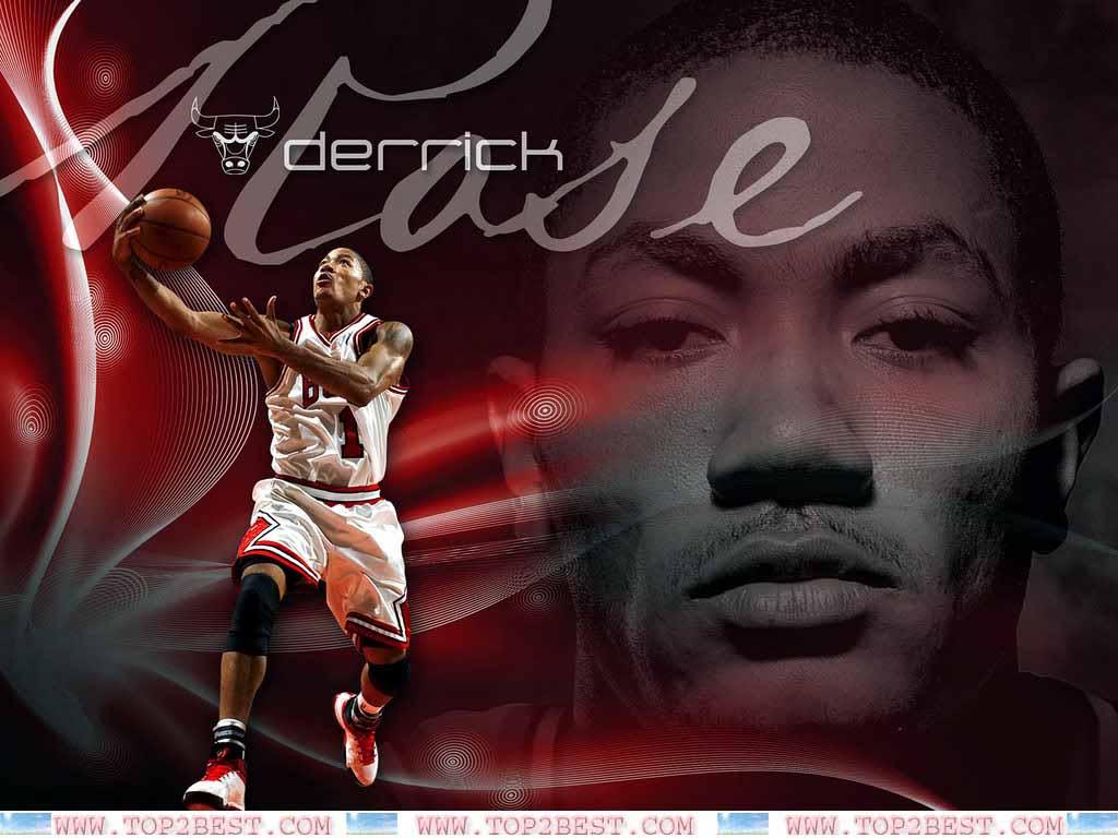 Derrick Rose Chicago Bulls Player   Top 2 Best 1024x768
