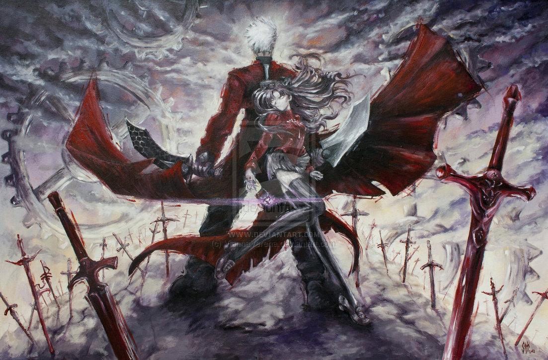 Unlimited Blade Works by ViannaVerena 1103x725