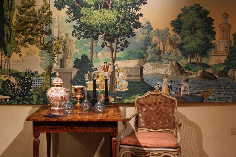 zuber scenic wallpaper wallpapersafari. Black Bedroom Furniture Sets. Home Design Ideas