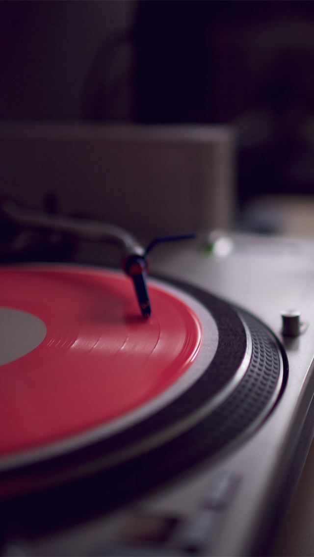 Vinyl Record Player Wallpaper Record player wallpaper 640x1136