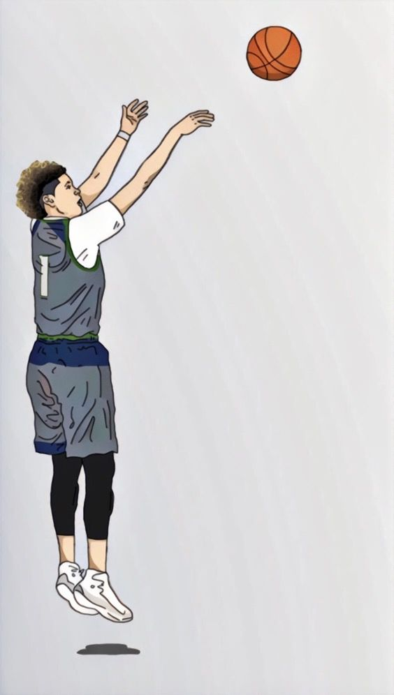 Lamelo Ball jam Basketball Basketball drawings Basketball 564x996