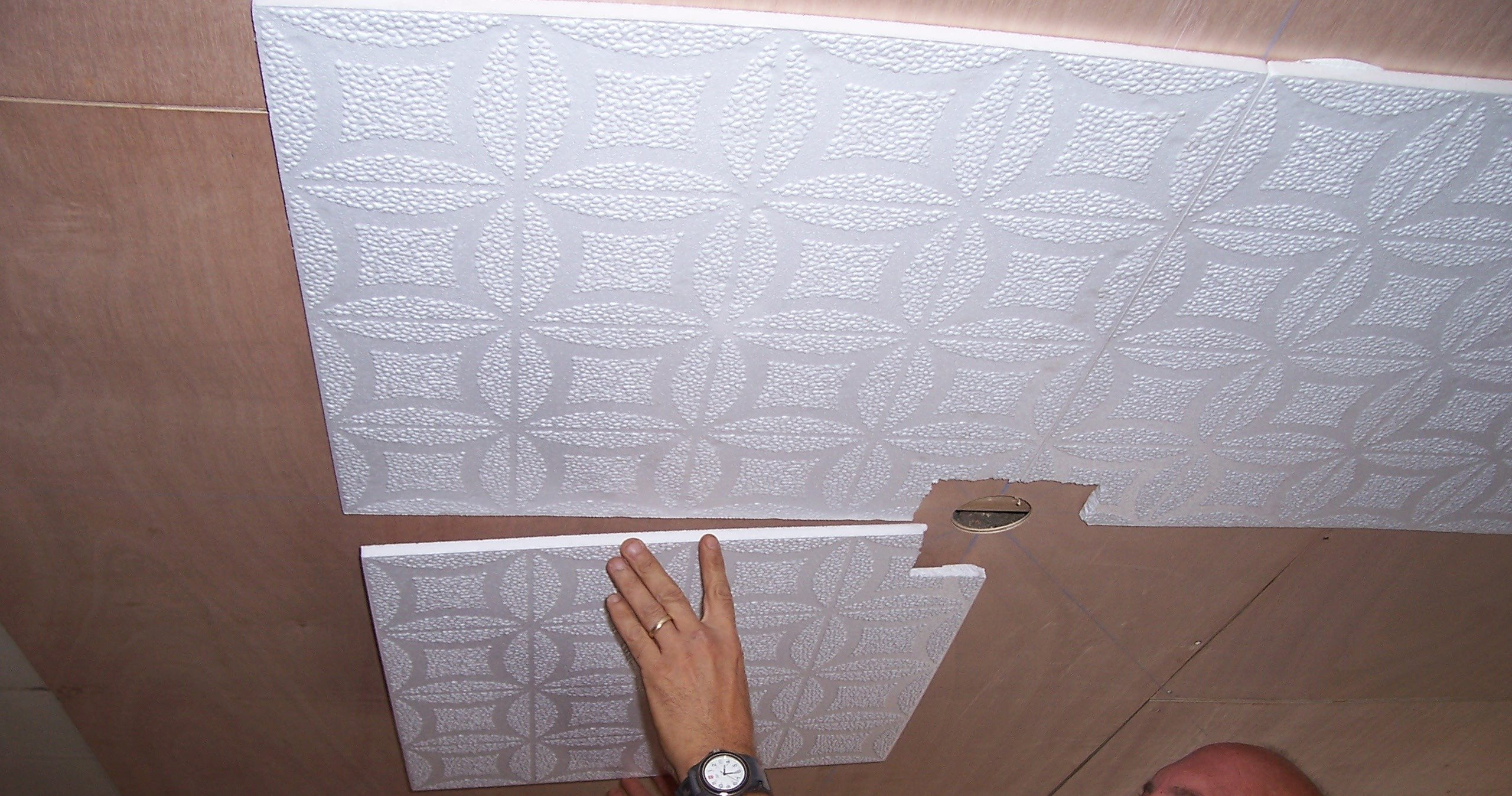 Can You Wallpaper Over Tile Wallpapersafari. Paintable Wallpaper Over Ceiling Tiles   Integralbook com