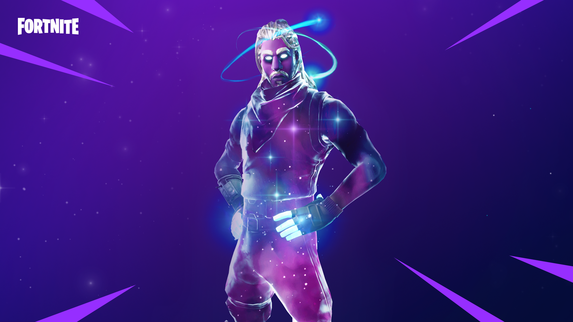 First In Game Look at New Fortnite Galaxy Skin Cosmetics 1920x1080