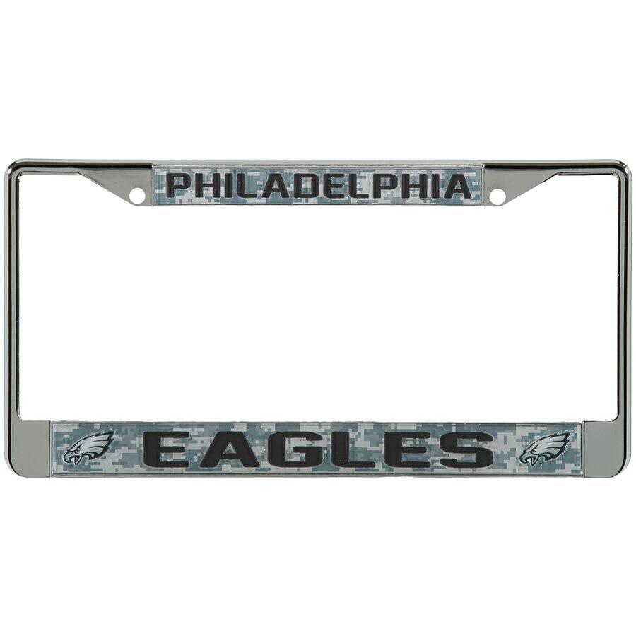 Philadelphia Eagles Digi Camo License Plate Frame with Black 900x900