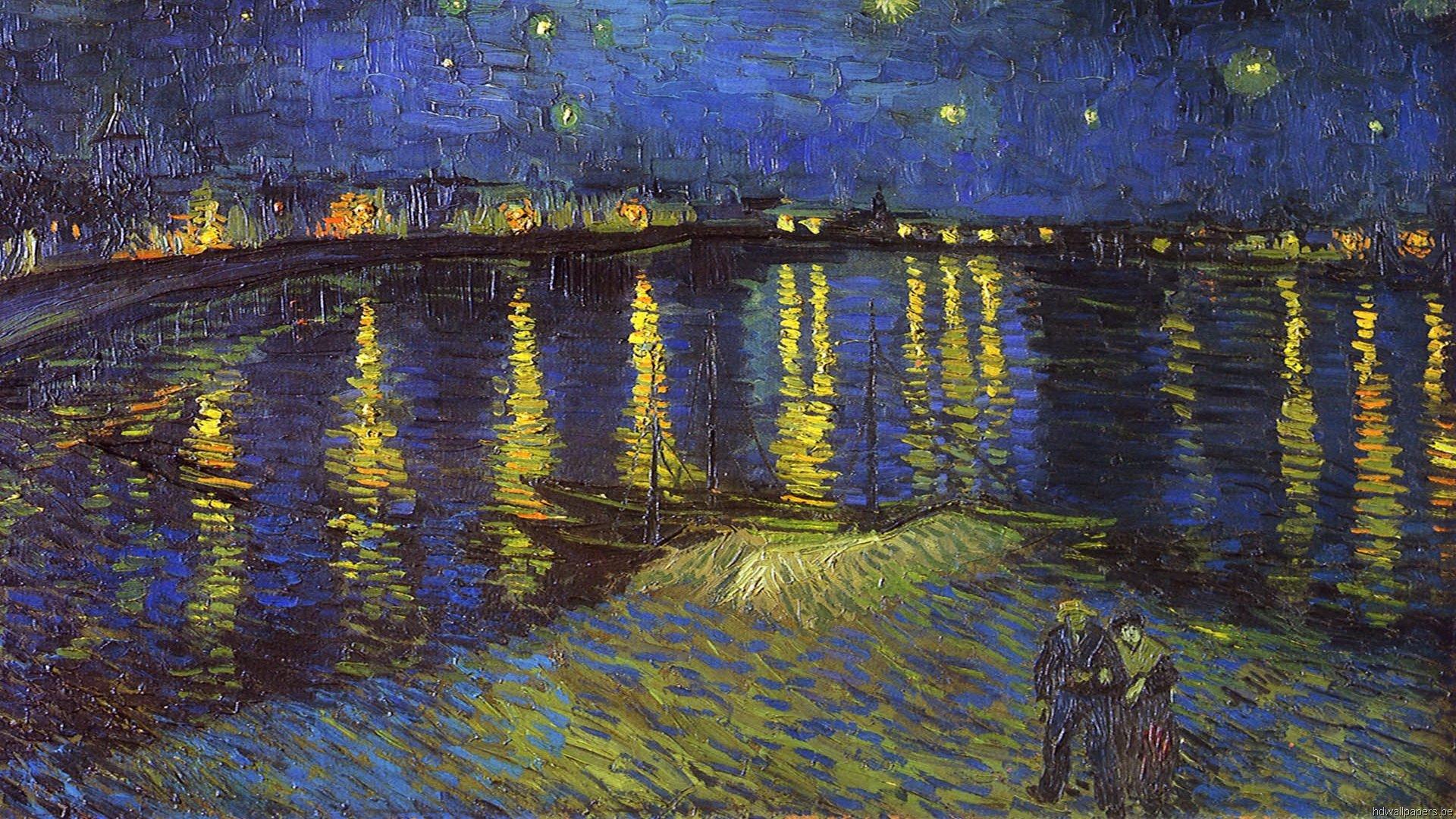 van Gogh Wallpapers HD Painting Desktop Wallpapers Vincent van 1920x1080