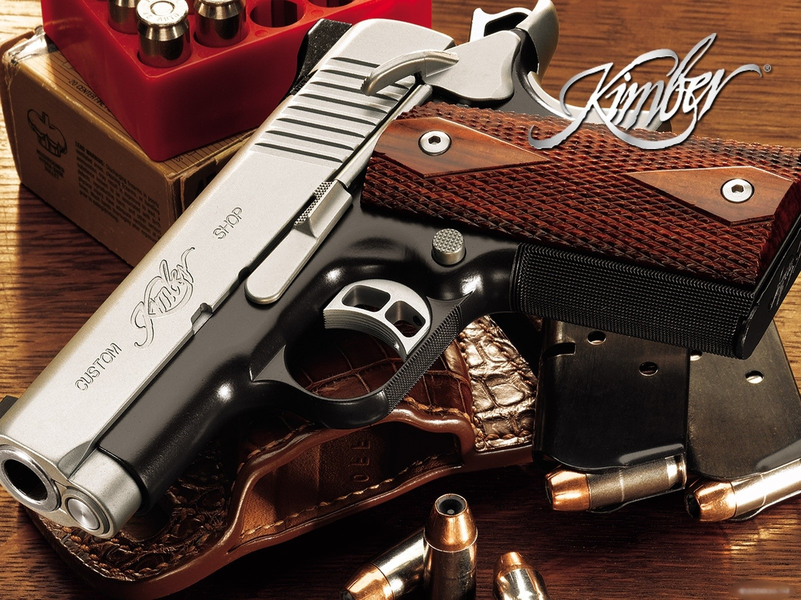 Weapons - Kimber Pistol Wallpaper