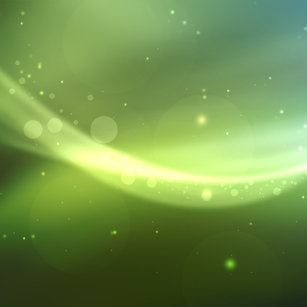iPad Wallpapers Green swirl background   Background iPad iPad 2 1024x1024