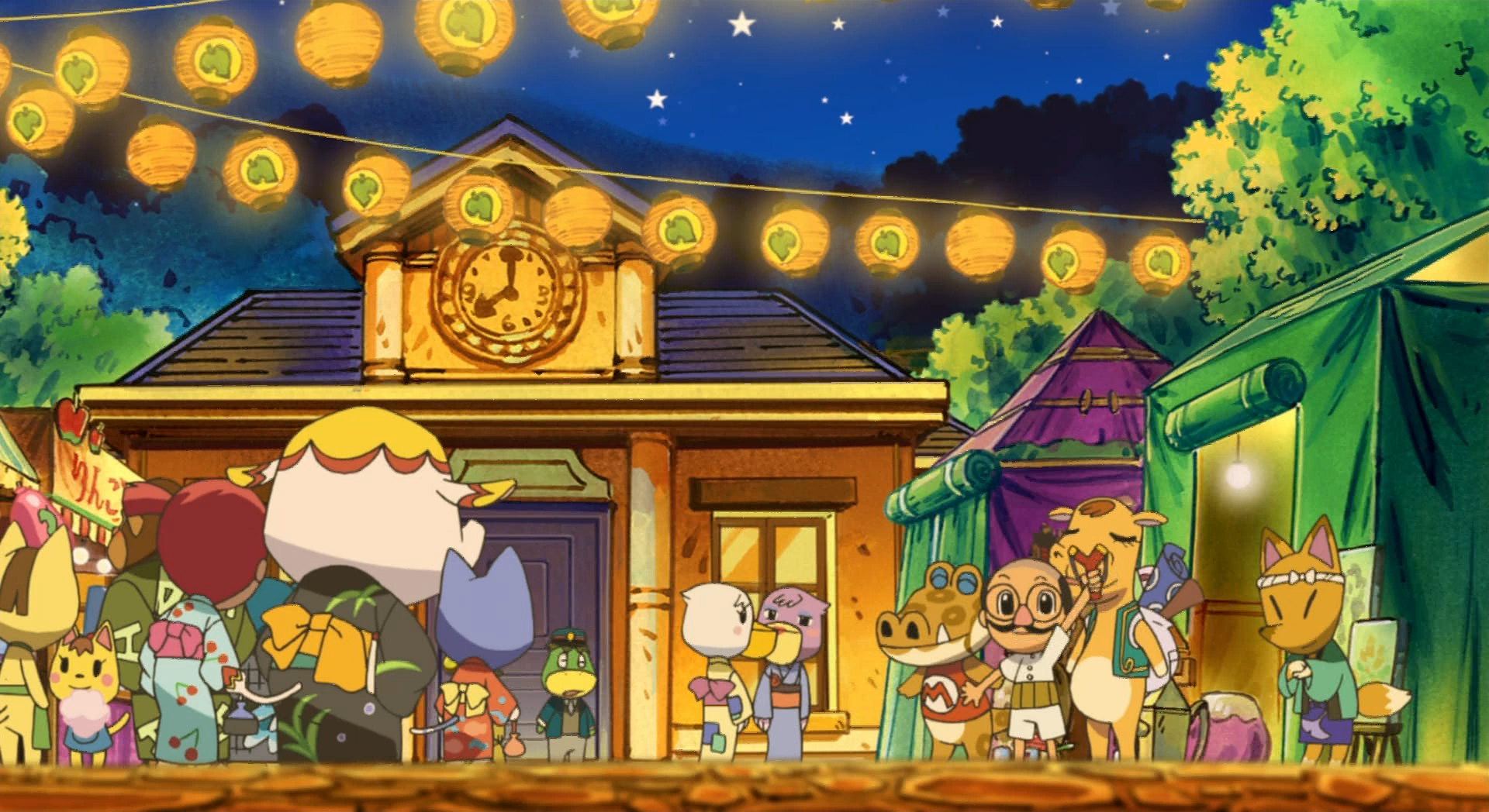 Animal Crossing New Leaf Christmas Room