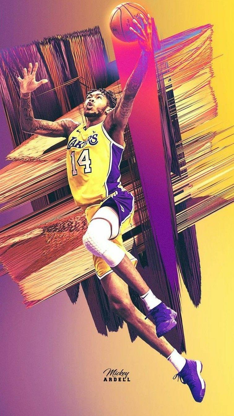 Brandon Ingram wallpaper Nba art Brandon ingram Nba 756x1344