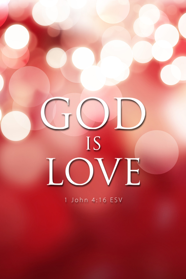God is love 640x960