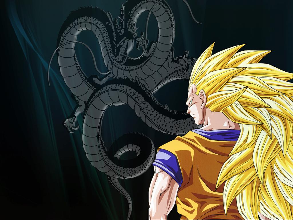 ssj 3 Goku   Goku Wallpaper 22034779 1024x768