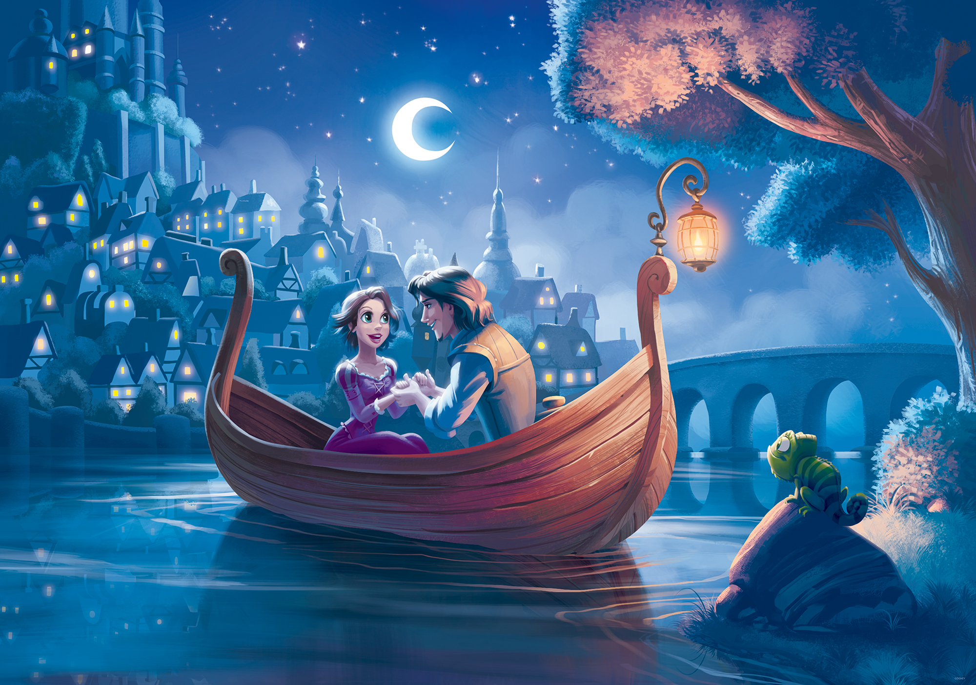 Szczegy o PHOTO WALLPAPER WALL MURAL 2415P Disney Tangled 2000x1404