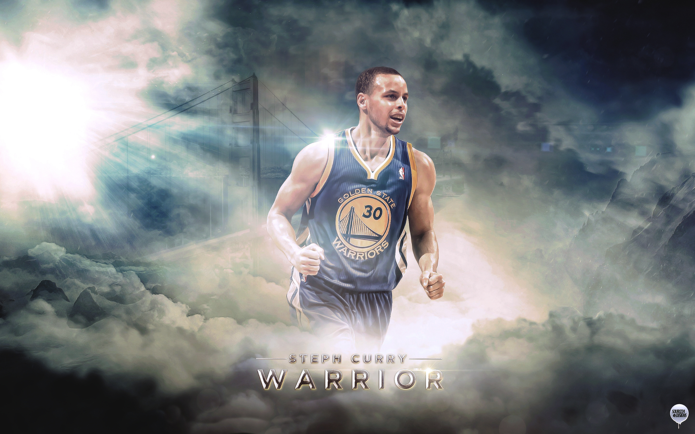 Stephen Curry State Warriors HD Computers Wallpaper cute Wallpapers 2880x1800