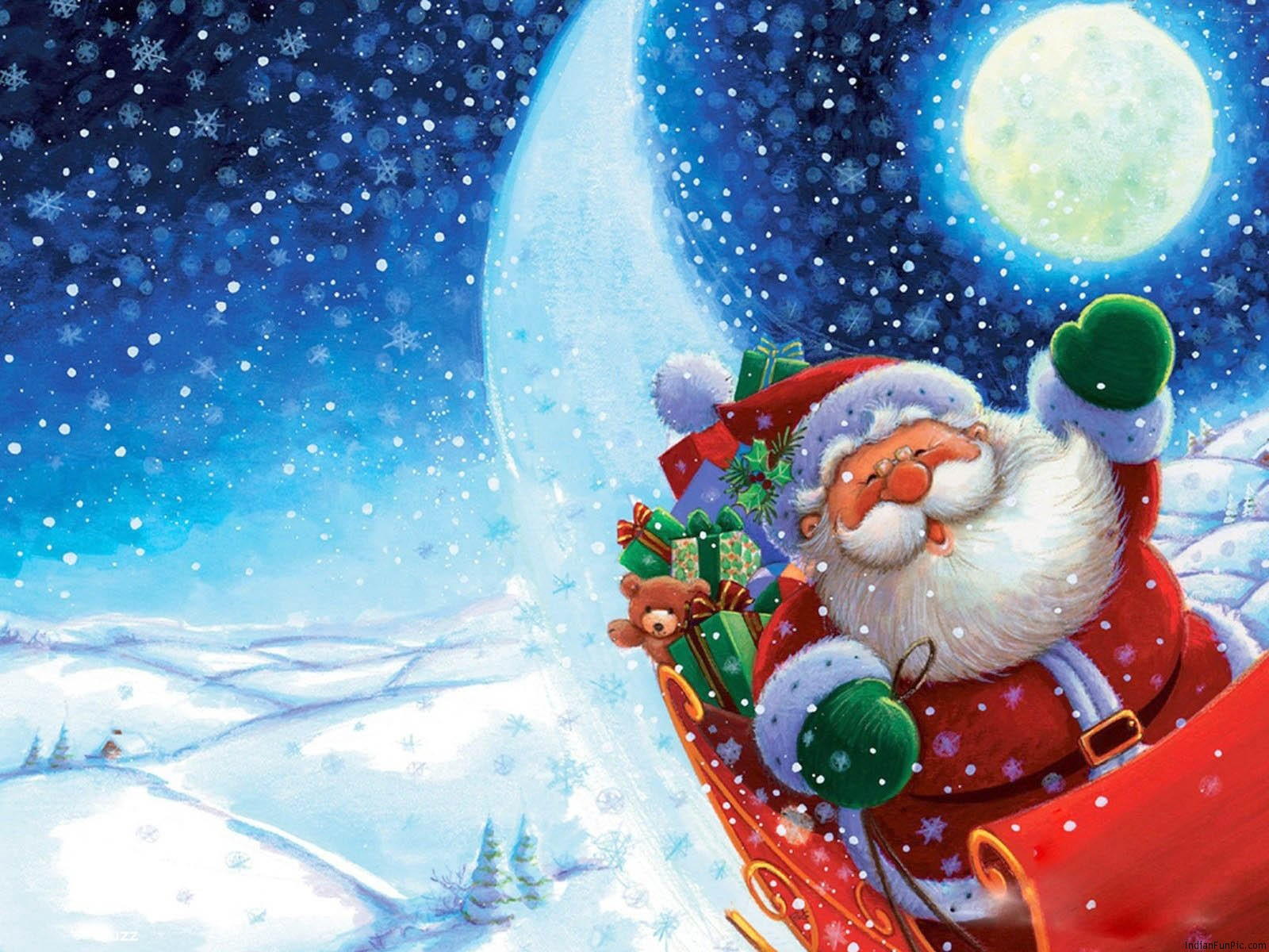 Funny Christmas Wallpapers 1600x1200