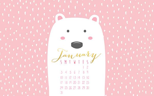 January Calendar    10 Terrific Calendar wallpapers for January 2016 600x375