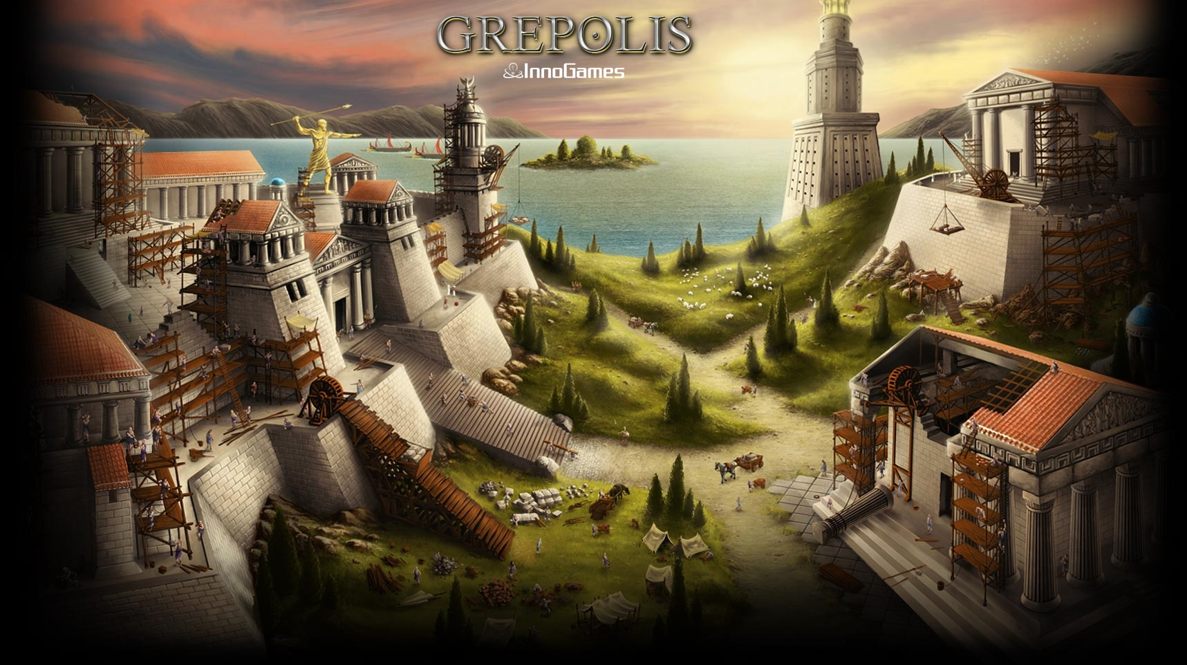 Grepolis wallpapers   Grepolis 1717x962