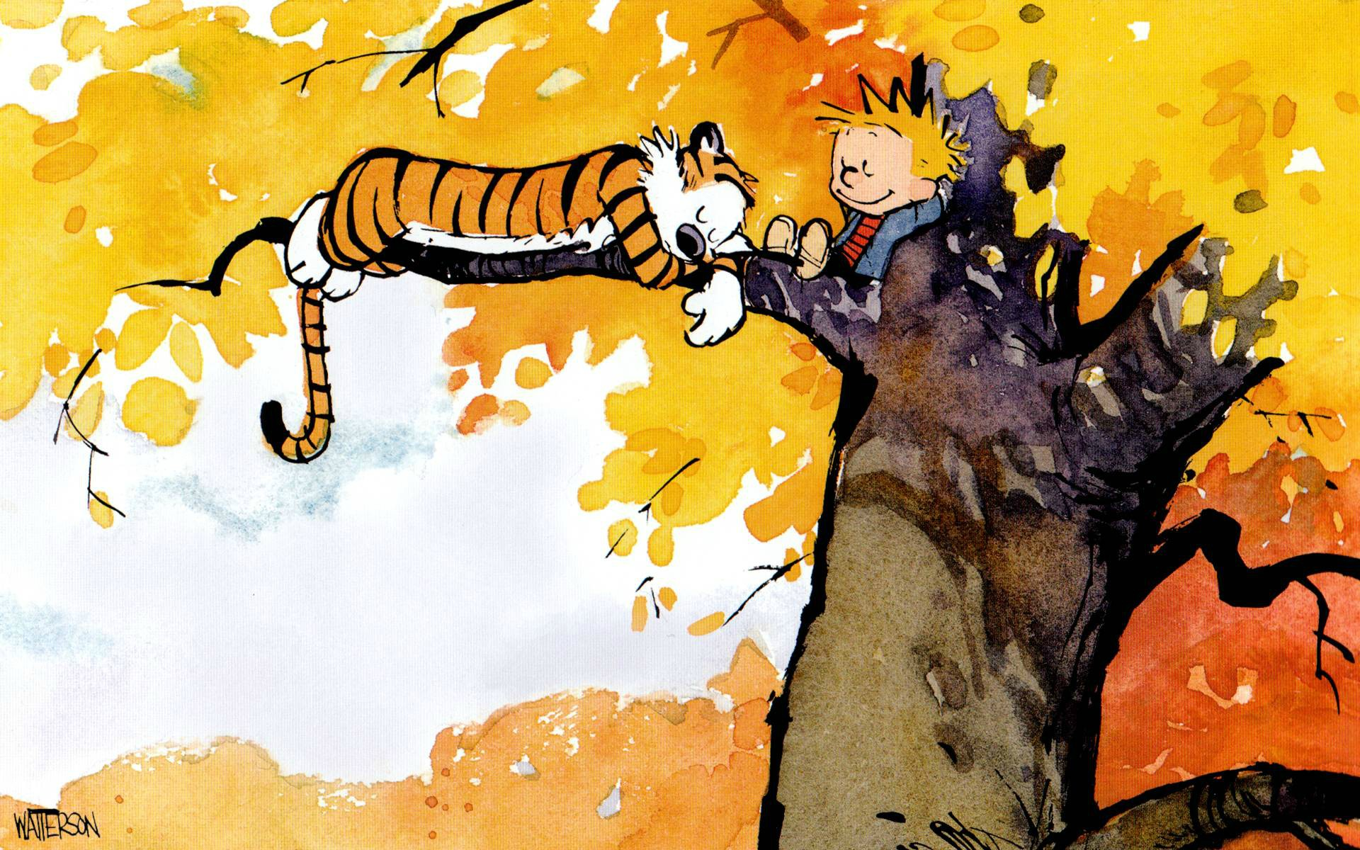 Calvin Hobbes Computer Wallpapers Desktop Backgrounds 1920x1200 1920x1200