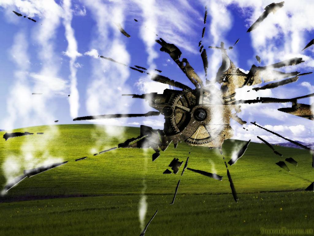 Iron Man Broken Screen Wallpaper Wallpapersafari