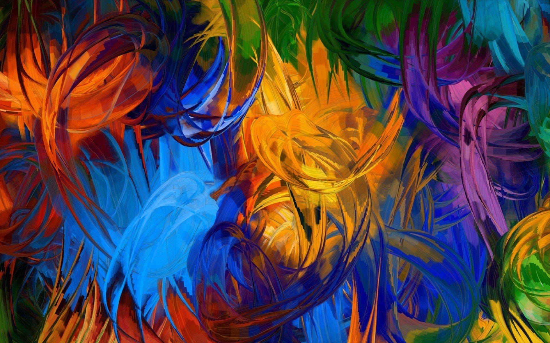 абстракция краски  № 3667509  скачать