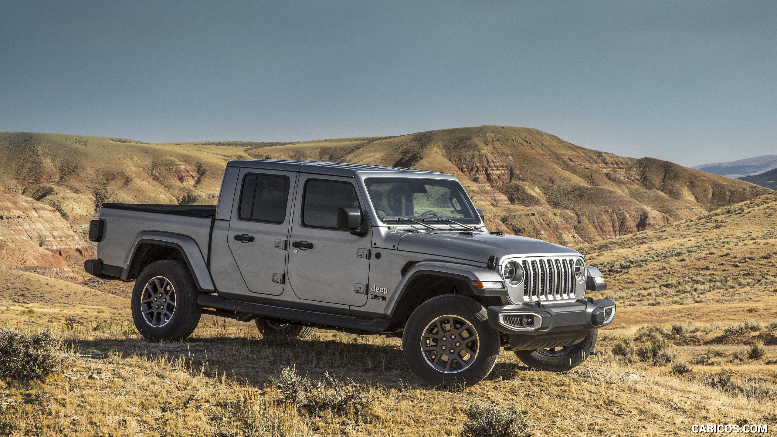 2020 Jeep Gladiator Overland   Front Three Quarter HD Wallpaper 206 2560x1440