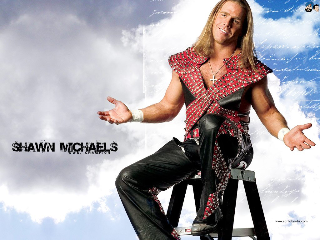 Shawn Michaels wallpapers HD WWE SuperstarsWWE 1024x768