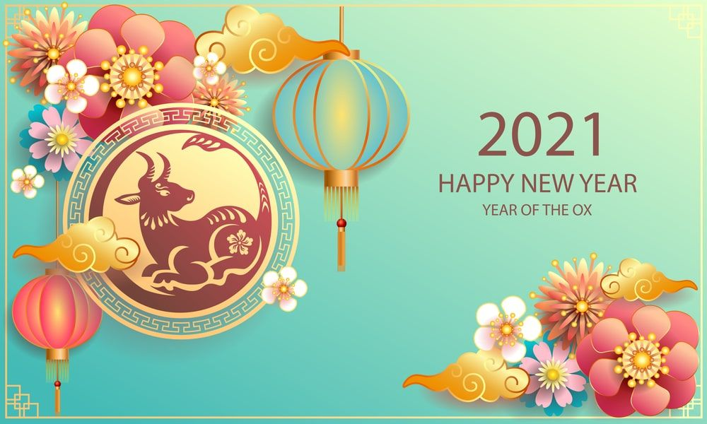 Chinese New Year 2021 Images and Wallpaper Chinese new year card 1000x600