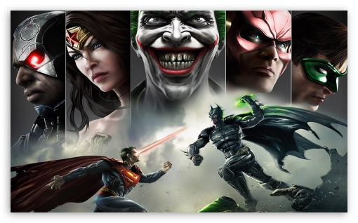 Injustice Superman vs Batman HD wallpaper for Wide 53 Widescreen WGA 510x318