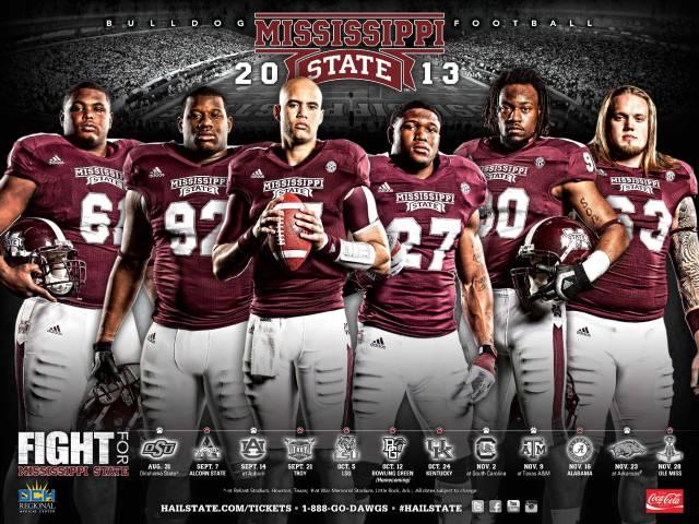 Mississippi St Football Uniform Tracker 2013 Spring Update 640x480