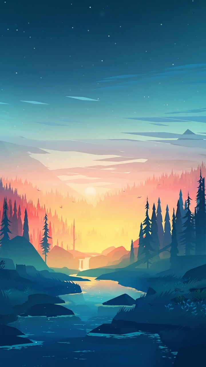 Free Download Download 720x1280 Flat Landscape Minimalism Trees Sunset River 720x1280 For Your Desktop Mobile Tablet Explore 59 720x1280 Wallpapers 720x1280 Wallpapers 720x1280 Wallpaper 720x1280 Phone Wallpapers